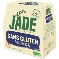 Jade bière blonde bio sans gluten 4,5° -6x24cl