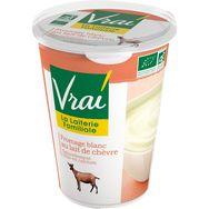 Vrai fromage blanc de chèvre bio 400g