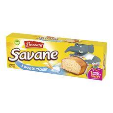 Brossard savane pocket à base de 16% de yaourt x7 -189g