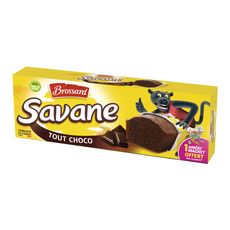 Brossard savane pocket tout chocolat x7 -189g