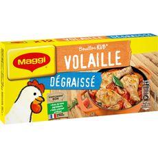 MAGGI Maggi Bouillon de volaille dégraissé fabriqué en France 120g 12 tablettes 120g