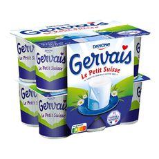 GERVAIS Gervais Petit suisse nature 9.5% MG 12x60g 12x60g