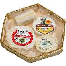 FROMAGE A LA COUPE ETOILE DU QUERCY Plateau de fromages 185g