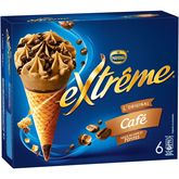 Nestlé Extrême Cône glacé au café 426g