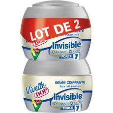 Vivelle Dop gel coiffant invisible 2x150ml