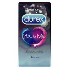 Durex préservatifs you and me x10