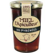 L'Apiculteur miel de fleurs des pyrénées liquide 500g