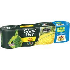 GEANT VERT Maïs extra tendre 4x140g