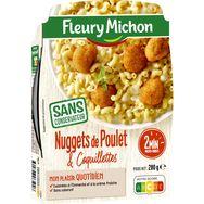 Fleury Michon mini nuggets de poulet coquillettes 280g