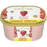 Carte d'Or sorbet fraise 850g format spécial