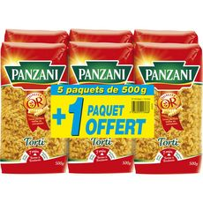 PANZANI Torti 5x500g +500g offert