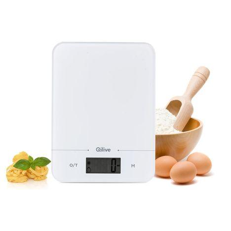 QILIVE Balance de cuisine 130299 - Blanc