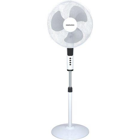 DAEWOO Ventilateur sur pied DW-VENT-DI-1690AXK - Blanc