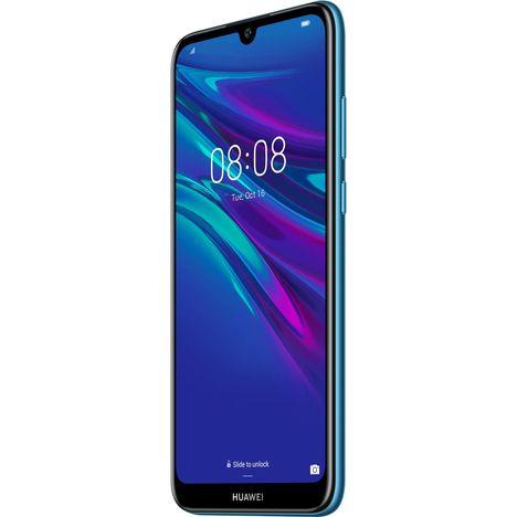 Carte Bancaire Auchan Gratuite.Huawei Smartphone Y6 2019 32 Go 6 1 Pouces Bleu 4g Double Sim