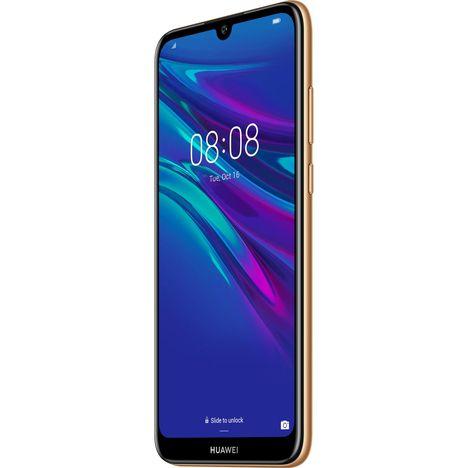 HUAWEI Smartphone - Y6 2019 - 32 Go - 6.1 pouces - Marron - 4G - Double SIM