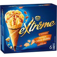 Extrême cône parfum crème brûlée x6 -426g