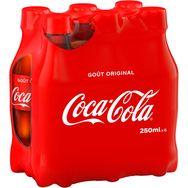 Coca-Cola bouteille 6x25cl