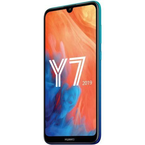 HUAWEI Smartphone - Y7 2019 - 32 Go - Bleu - 6.26 pouces - Double SIM