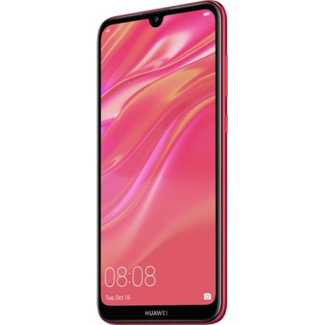 HUAWEI Smartphone - Y7 2019 - 32 Go - Rouge - 6.26 pouces - Double SIM