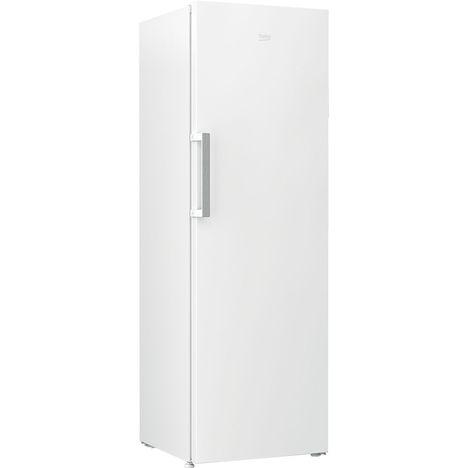 BEKO Congélateur armoire RFNE312K21W, 277 L, Froid ventilé