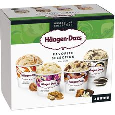 Häagen-Dazs mini pot obsession collection 318g