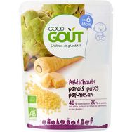 Good Goût artichaut panais pâtes parmesan bio 190g dès 6mois