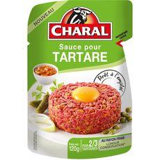 CHARAL Sauce pour tartare 2 à 3 personnes 120g