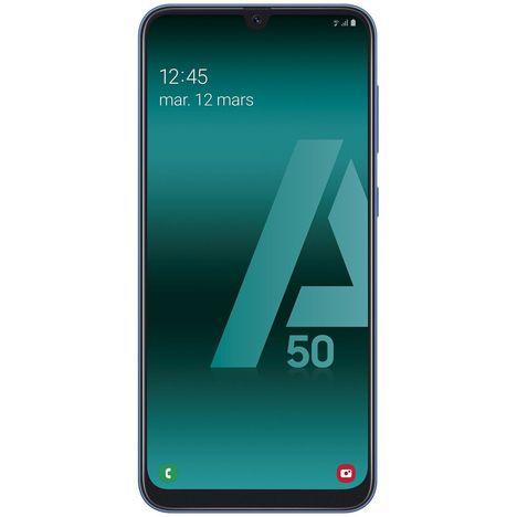 SAMSUNG Smartphone - GALAXY A50 - 128 Go - 6.4 pouces - Bleu - 4G - Double port nano SIM