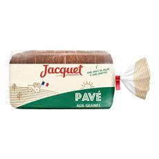 Jacquet pavé aux graines 350g