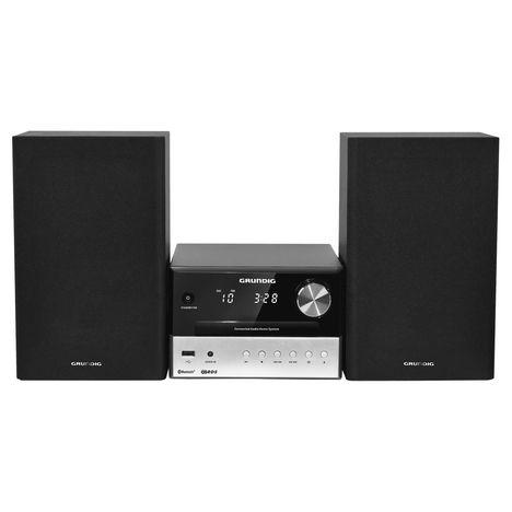 GRUNDIG Microchaîne CD Bluetooth et DAB+ - Noir / silver - M1050BT