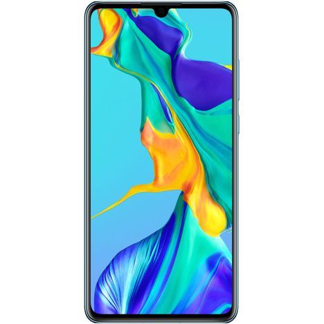 HUAWEI Smartphone - P30 - 128 Go - 6.1 pouces - Crystal - 4G - Double SIM