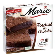 Marie MARIE Fondant au chocolat