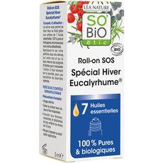 So'Bio étic Roll-on SOS eucalyptus bio pour le rhume 5ml