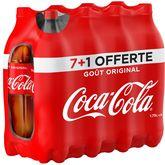 Red Bull Coca-Cola Boisson gazeuse aux extraits végétaux original 8x1,75l