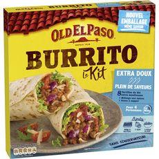 Old El Paso OLD EL PASO Kit pour burrito - extra doux