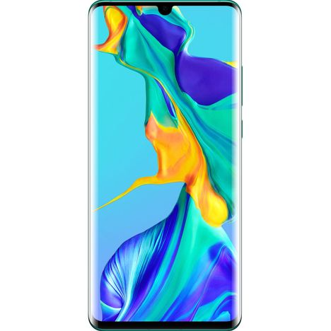 HUAWEI Smartphone - P30 Pro - 128 Go - 6.47 pouces - Aurora Blue - 4G+ - Double SIM
