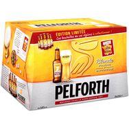 Pelforth Blonde bière blonde du Nord 5,8° -20x25cl