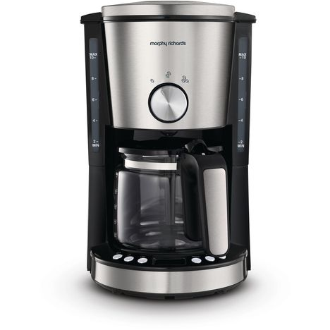 MORPHY RICHARDS Cafetière programmable - M162521EE - Inox