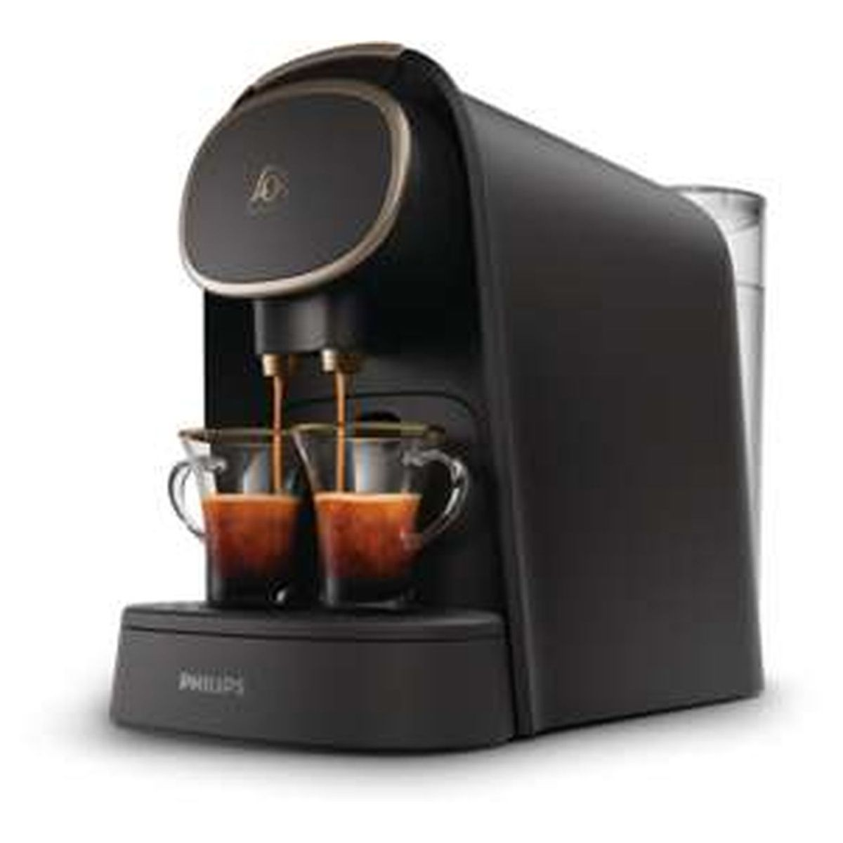 Cafetière à dosette L'Or Barista - LM8016/90 Noir mat