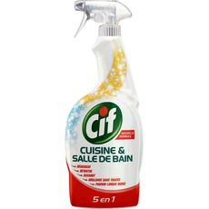 Cif pistolet spray nettoyant cuisine & salle de bain 750ml