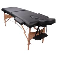 YOGHI Table de massage pliante - TDM102 - Noir