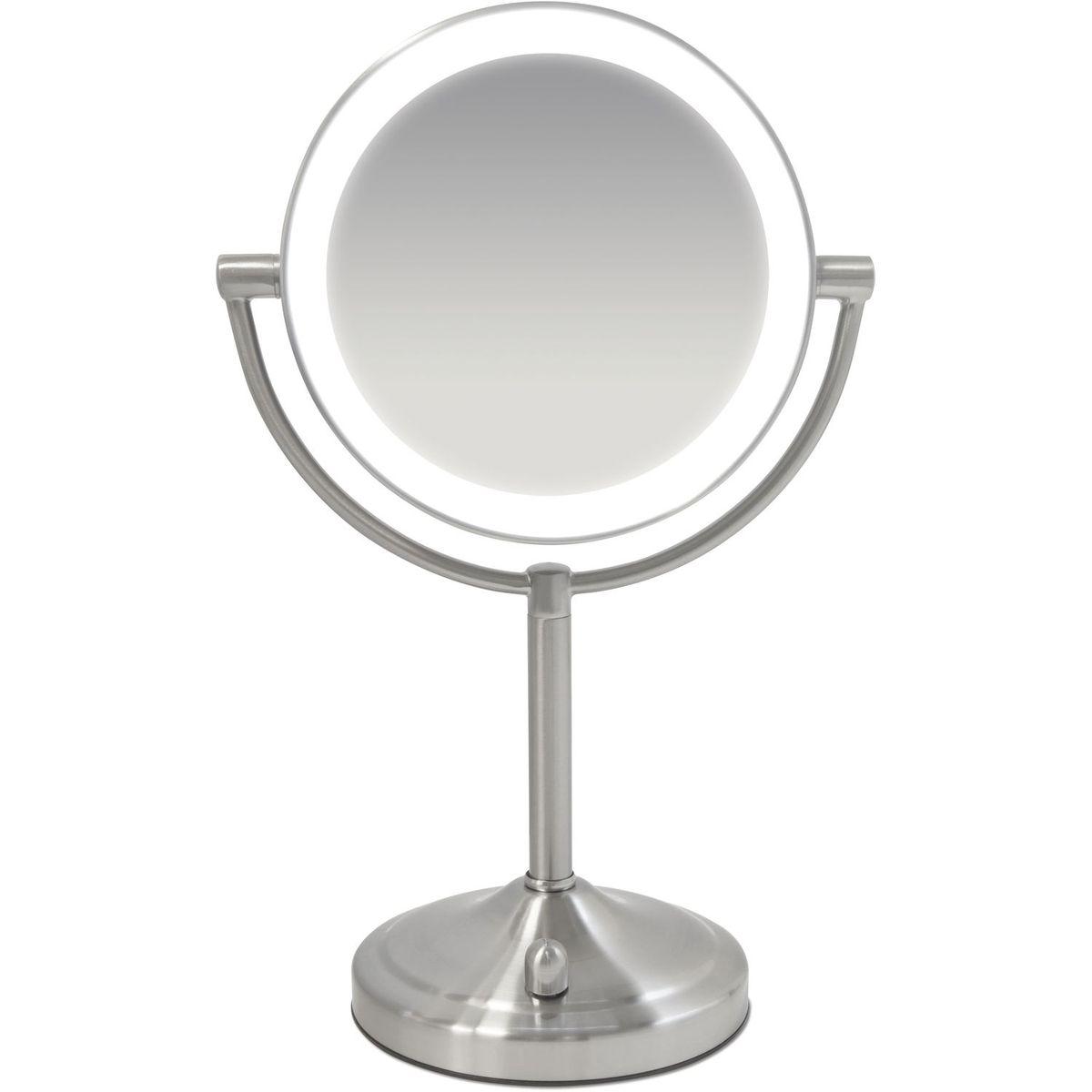 Miroir lumineux grossissant - HMMIR8160 - Gris