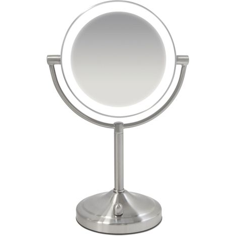 HOMEDICS Miroir lumineux grossissant - HMMIR8160 - Gris
