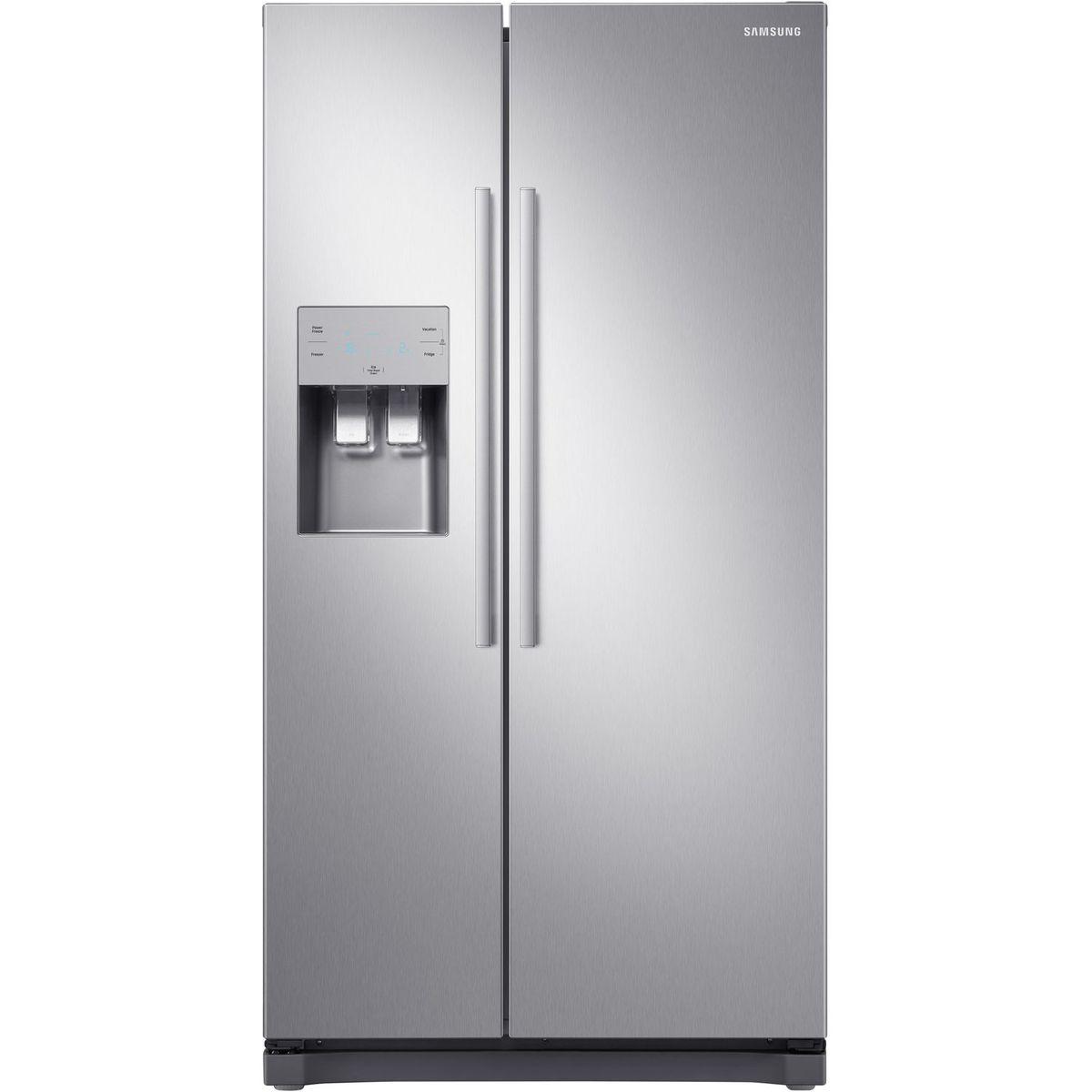 Réfrigérateur américain RS50N3503SA, 501 L, Froid ventilé