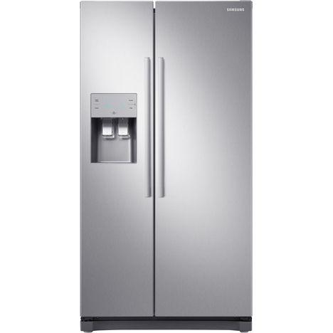 SAMSUNG Réfrigérateur américain RS50N3503SA, 501 L, Froid ventilé