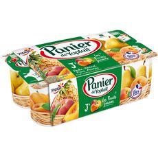 PANIER DE YOPLAIT PANIER DE YOPLAIT Yaourt aux fruits jaunes panaché 8x130g 8x130g