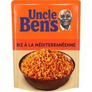 Uncle Ben's riz express recette méditerranéenne 2mn 250g