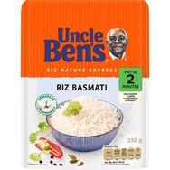Uncle Ben's riz express basmati 2 minutes micro-onde 250g