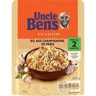 Uncle Ben's riz express champignons de Paris 2 minutes 250g