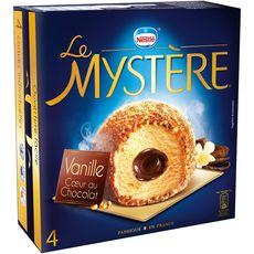 Mystère vanille coeur au chocot x4 -308g